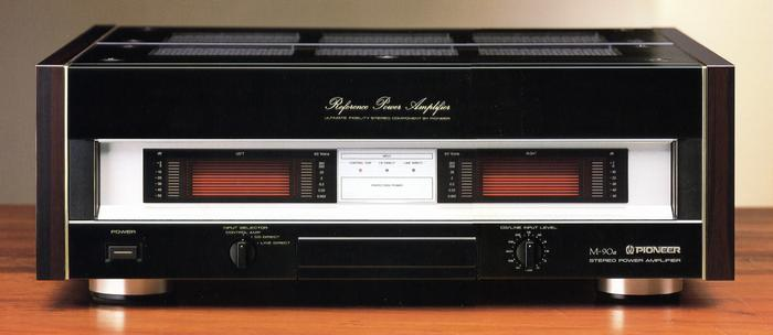 Sony ES/QS e Pioneer Reference/Elite/Precision series M-90a