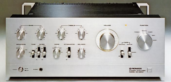 Operating Instructions for Pioneer SA-9900